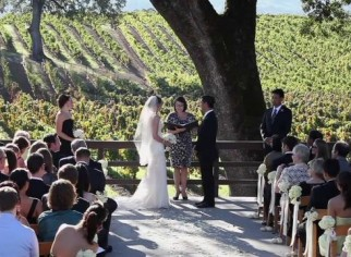 B R Cohn Winery Wedding